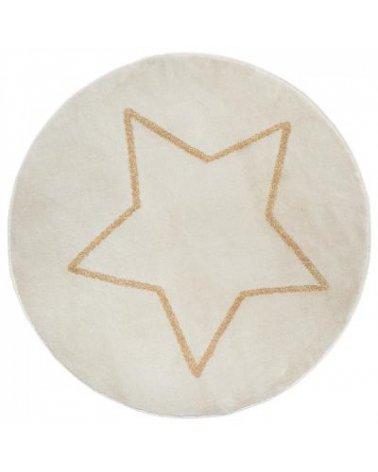 Alfombra Infantil Redonda de Atmosphera Estrella